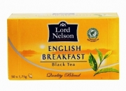 Чай  LORD NELSON  English Breakfast  (50 пакетиков по 1,75 гр)