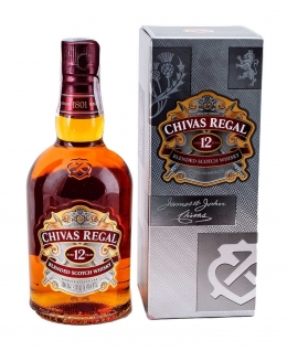 Виски CHIVAS REGAL 12 лет - 700 ml