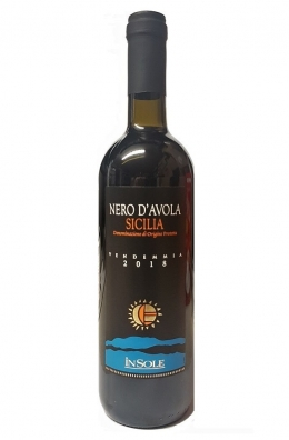 Вино Красное Nero d'Avola - 750 ml (Фабрика  In Sole)